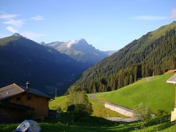 Walserweg Safiental Etappe 2
