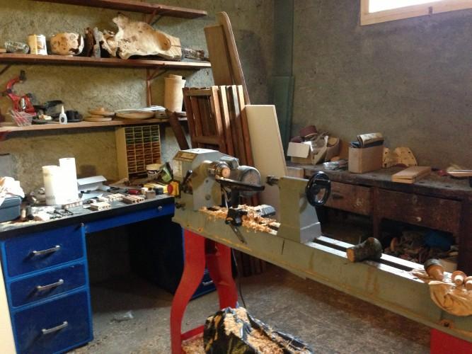 Cours de sculpture sur bois