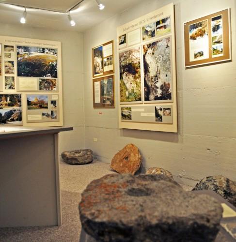 Ausstellung Schalensteine