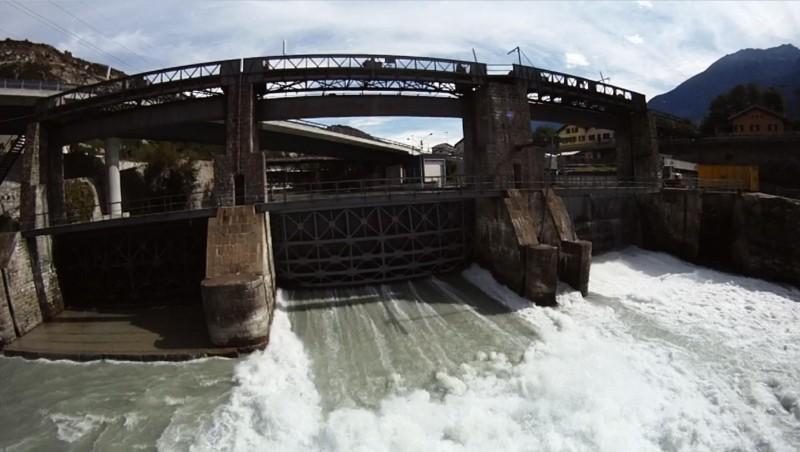 Le barrage de la Souste
