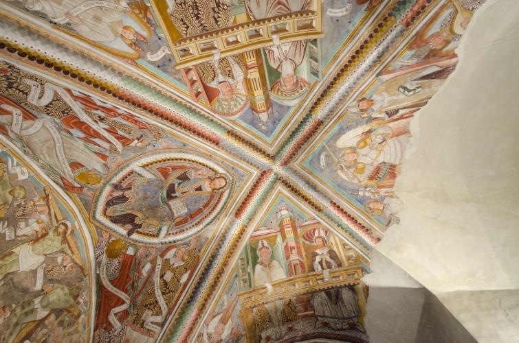 San Michele et ses fresques