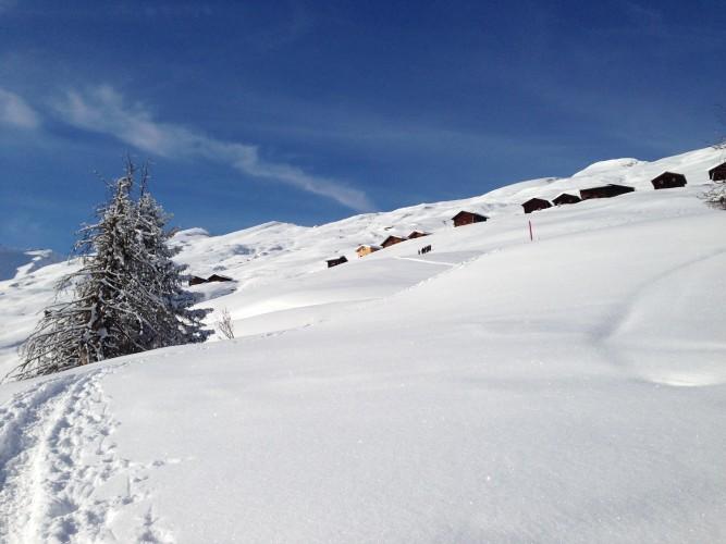 Winterwandern Camana