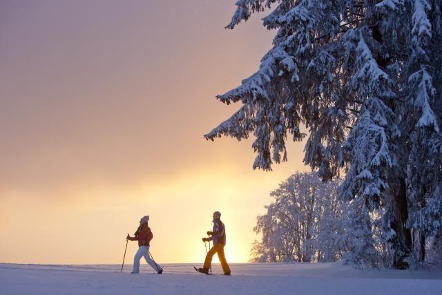 Randonnée hivernale Pouillerel