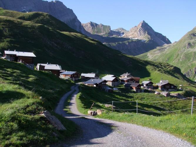 Wanderung Leukerbad - Jeizinen