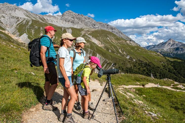 Geführte Exkursion Margunet - © ©Schweizerischer Nationalpark/Hans Lozza