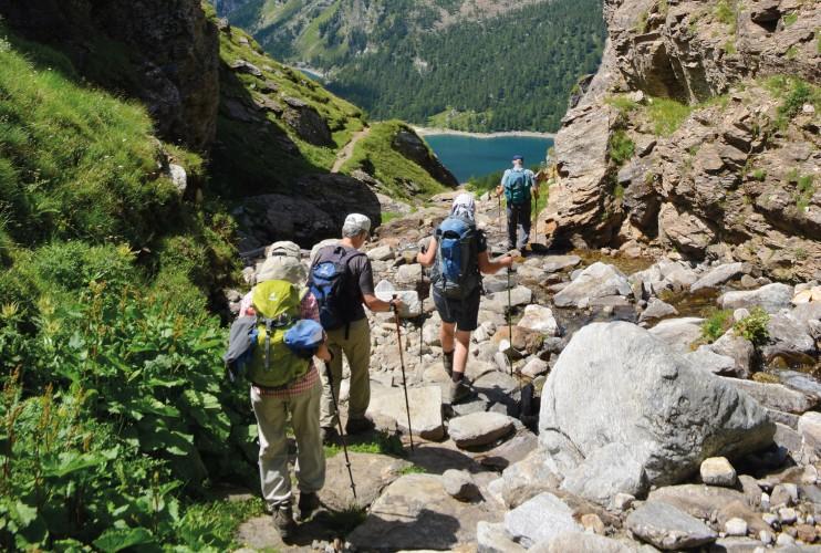 Wanderung über den Albrunpass