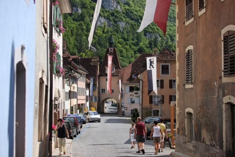 Portes médiévales St-Ursanne
