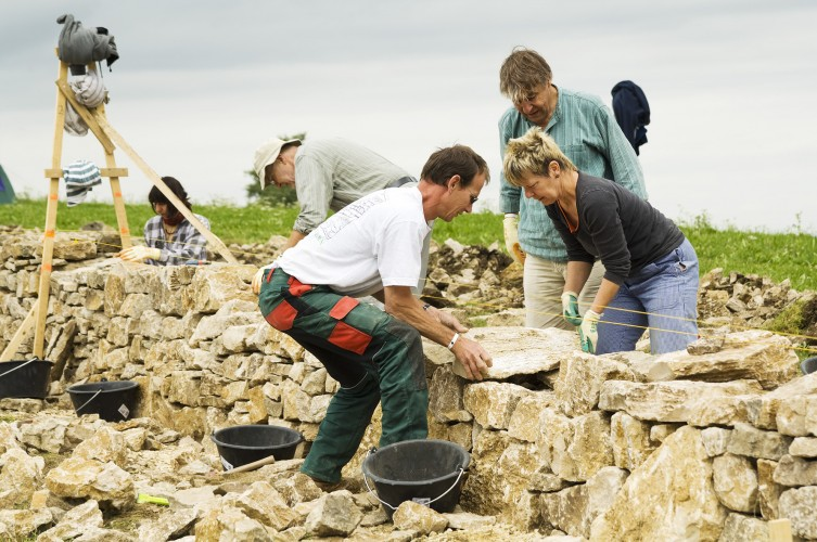 Trockenmauer Probstenberg