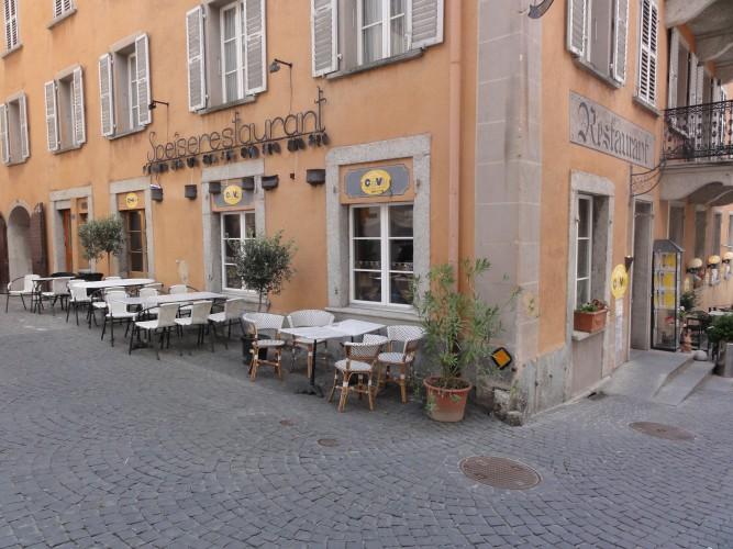 Restaurant piccola Casa Villa