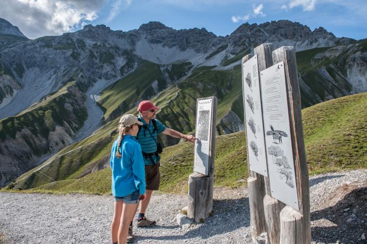Naturlehrpfad Margunet - © ©Schweizerischer Nationalpark/Hans Lozza