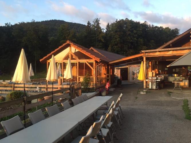 Übernachten auf dem Berghof Montpelon