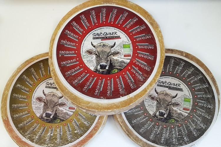 Nossa Caschareia / Savogniner Heumilch Käse