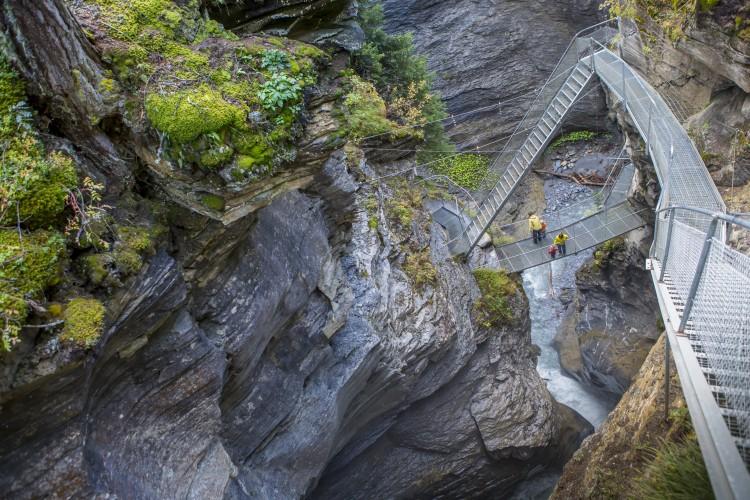 Thermalquellen-Weg und Steg