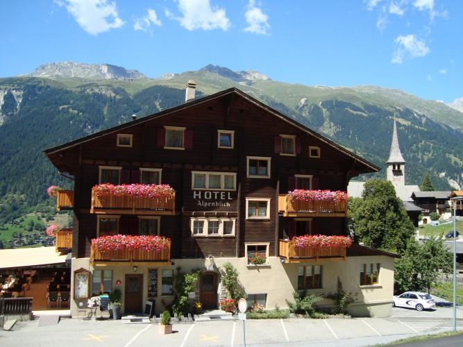 Spielplatz Hotel Alpenblick