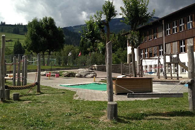 Spielplatz Sala Grava