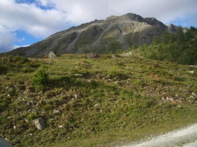Gruben – Höhenpfad - Oberems