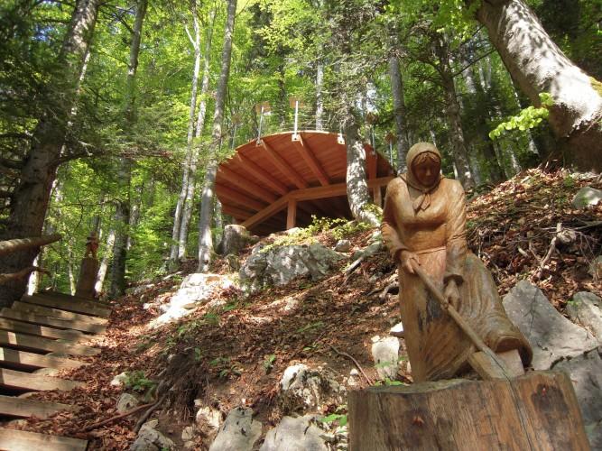 Le sentier des sculptures