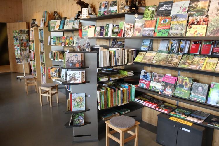 Shop im Besucherzentrum