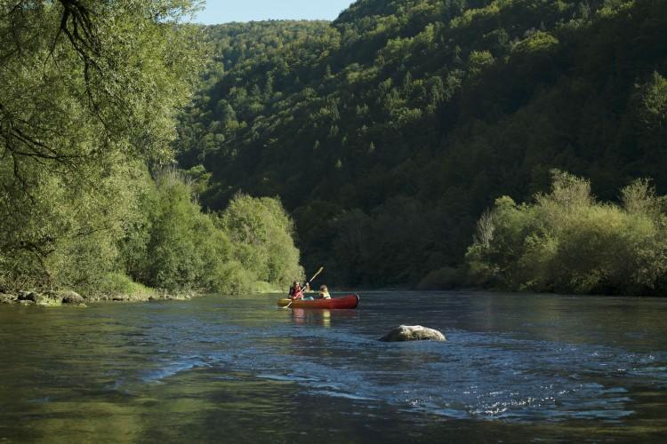 Chemin au fil du Doubs 4
