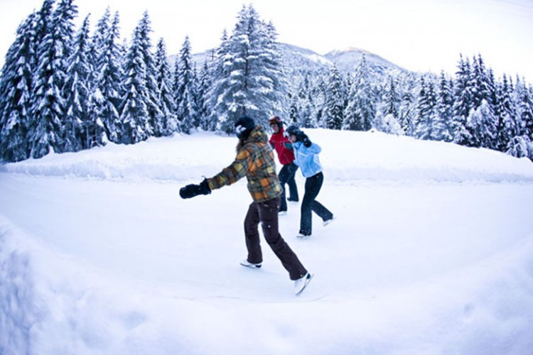 Randonnée hivernale Filisur