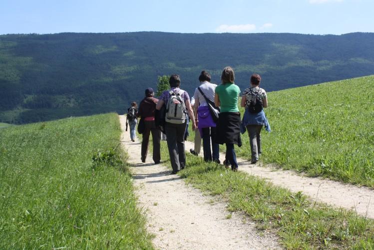 Rundwanderung in Laupersdorf