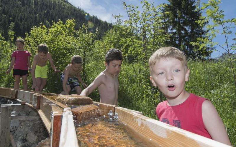 Jeux d'eau Gwunderwasser