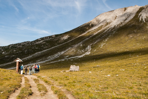 Spezialexkursion Biodiversität und Klimawandel - © ©Schweizerischer Nationalpark/Hans Lozza