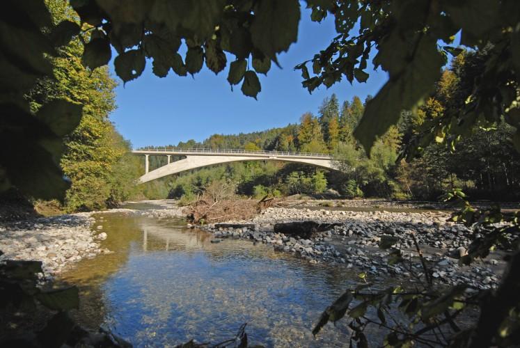 Le pont Schwarzwasserbrücke