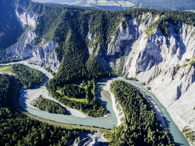 Riverrafting Ruinaulta