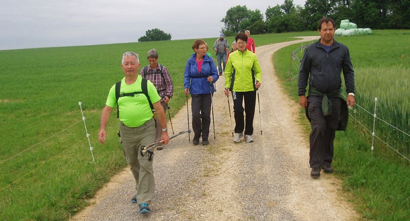 Pfingstmontag-Walking