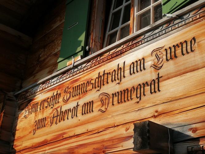 Sennhütte Menigwald - © Rahel Mazenauer