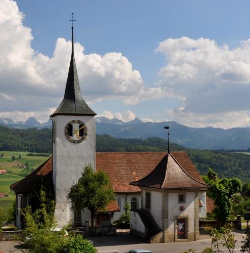 Église Saint-Martin de Rüegg.