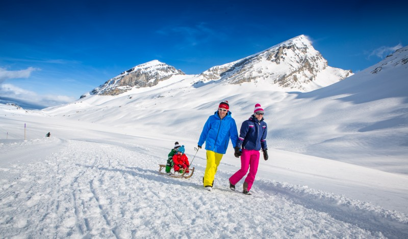 Via inverno Gemmi-Kandersteg