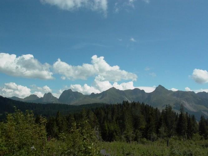Gantrisch sentier panoramique