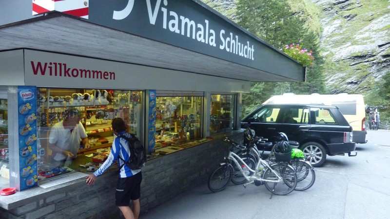 Viamala-Andeer mit dem E-Bike