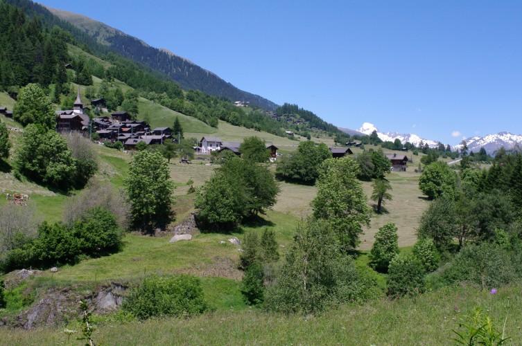 Itinéraire Blitzingen - Ernen