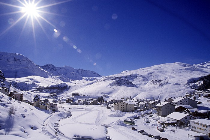 Rando hivernale Val Tgavretga
