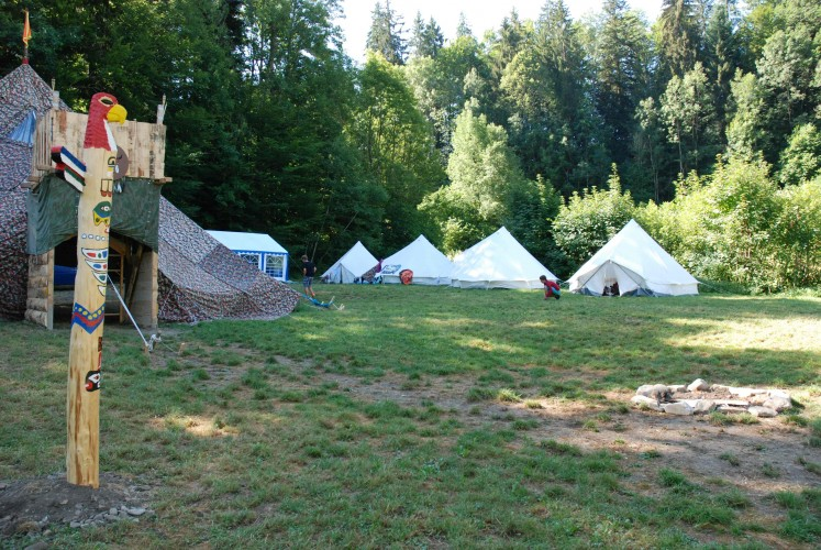 Campement Rüschegg Heubach