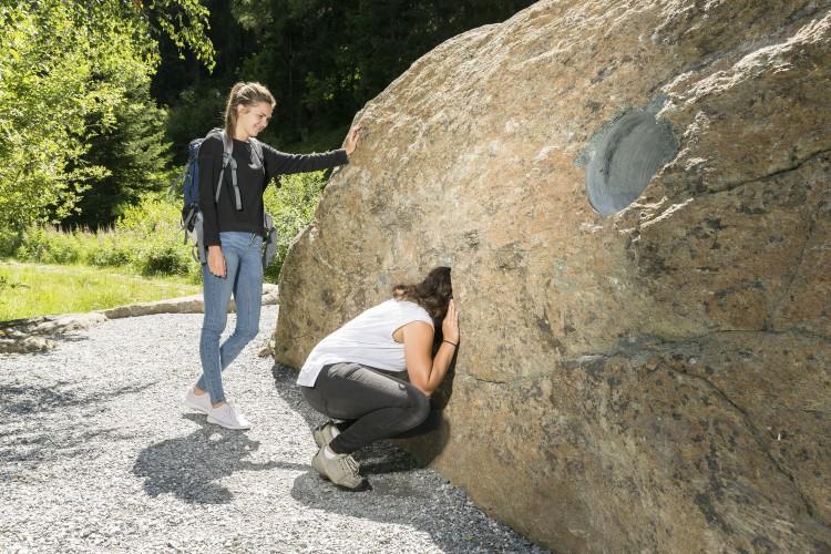 Sentier des roches à Fäld