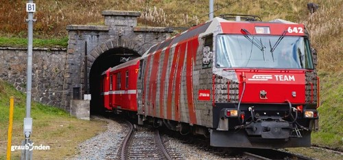 Albulatunnel Baustellenführung