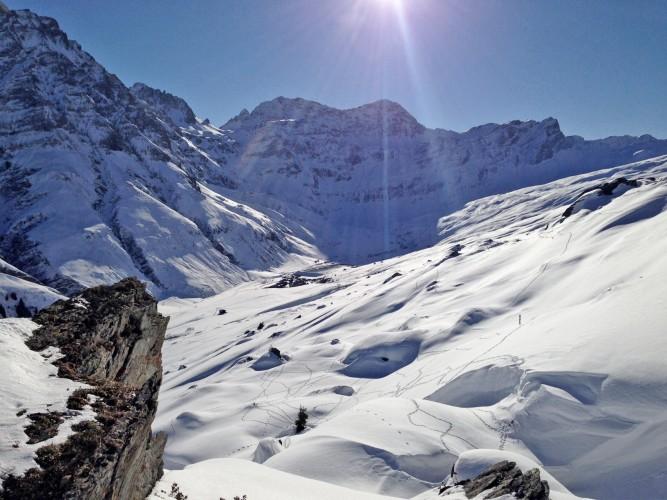 Schneeschuhtrail Guw