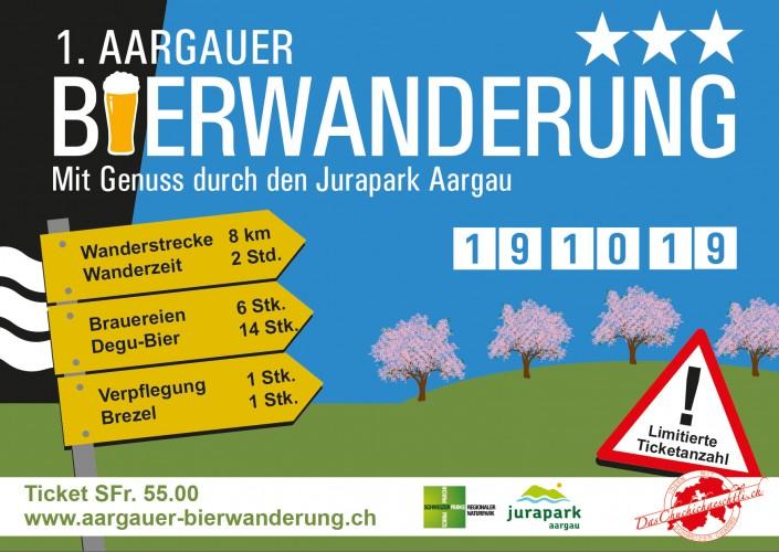 1. Aargauer Bierwanderung