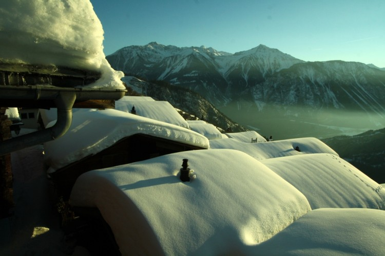 Chemin d'hiver Albinen-Feschel