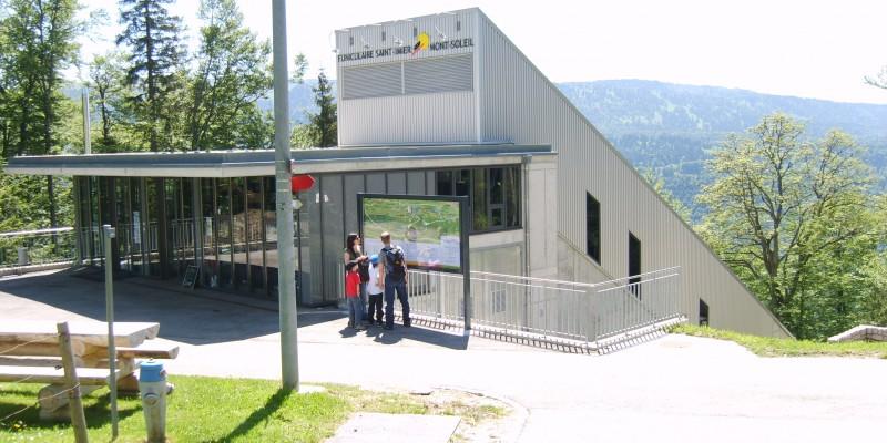Standseilbahn Mont-Soleil