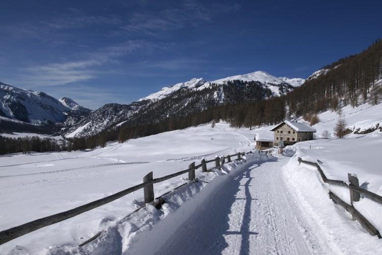 Randonnée hivernale à Lü
