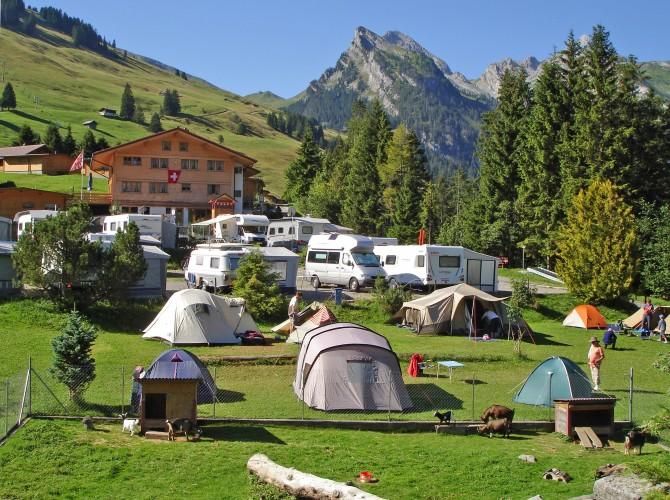 Camping Eggmatte