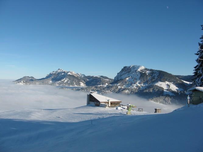 Winterwanderung Heiligkreuz-First