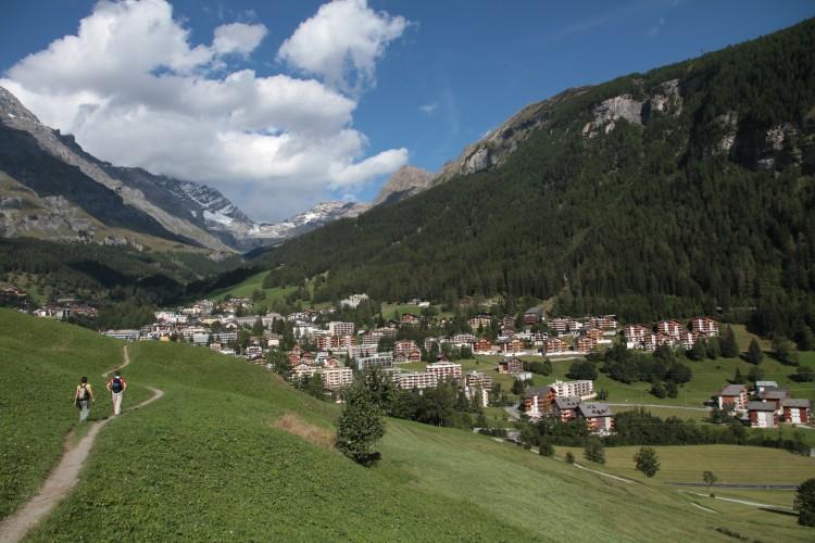 Walk Leukerbad - Salgesch