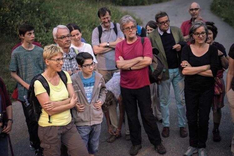 Binner Sagen an der Schweizer Wandernacht