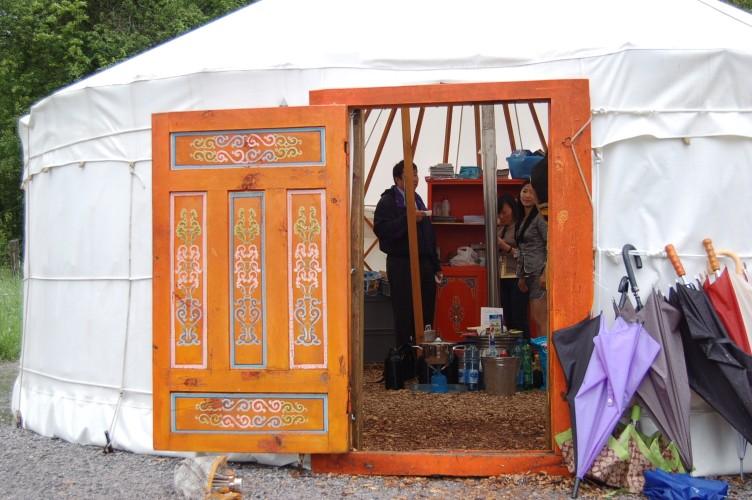 Erlebniswelt Mongolische Jurte
